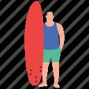 sports surfing, surfing kayaking, water game, water ski, water surfing icon