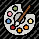 art, artist, painting, paint, palette