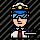 pilot, aircraft, work, job, captain