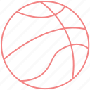 basketball, college, games, outline, sports icon