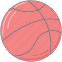 basketball, college, pink, sport icon