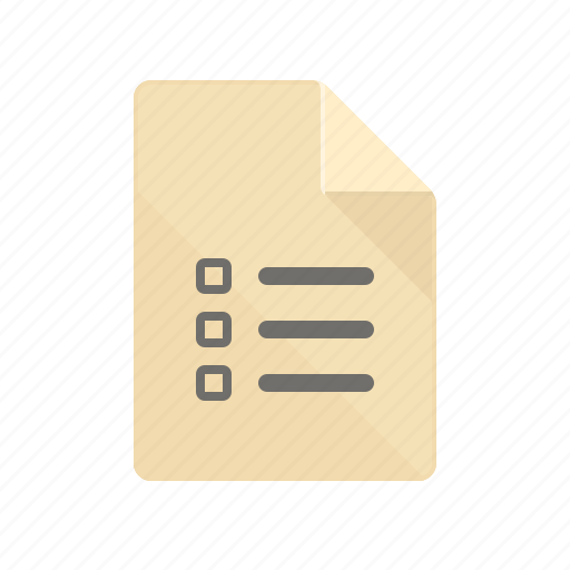 allow, checked, checking, list, review, revision, test icon