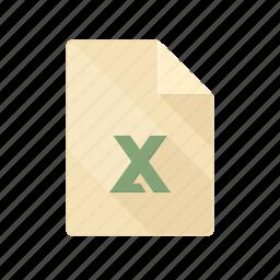 chart, document, excel, graph, table, xls, xlsx icon