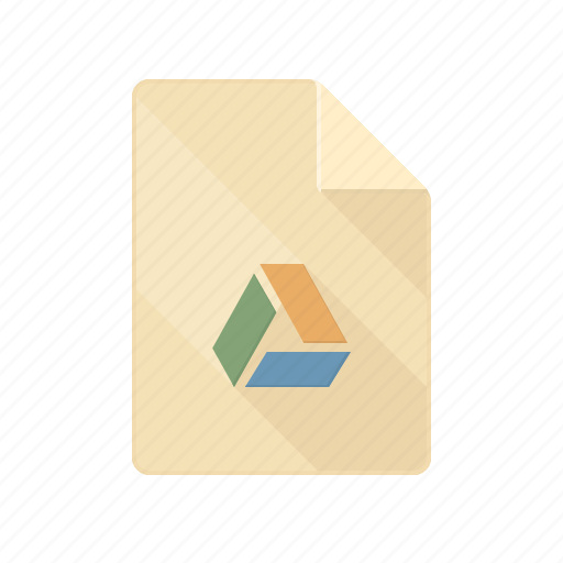 cloud, document, drive, gdrive, google, table icon