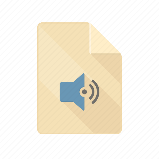 doc, dynamic, hear, listen, mp3, music, ogg icon