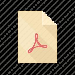 acrobat, adobe, document, pdf, presentation icon