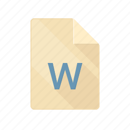 doc, document, page, paper, text, word icon
