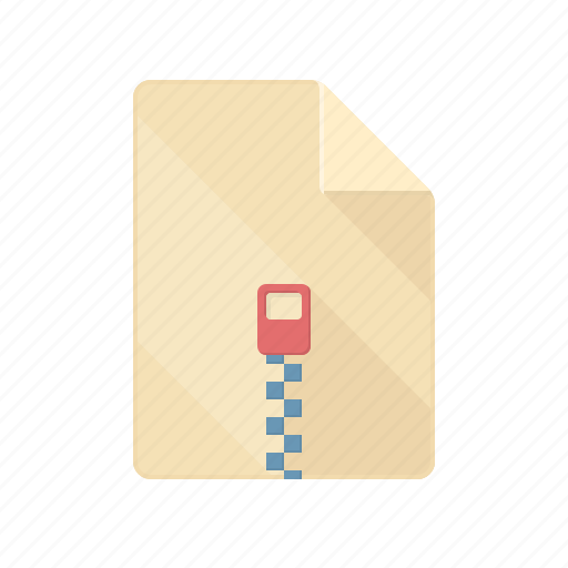 archive, document, pack, rar, zip icon