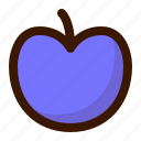 food, fruit, plum icon