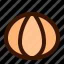 citrus, food, fruit, peeled, tangerine icon