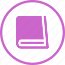 book, learn, learning, manual, notebook, textbook icon