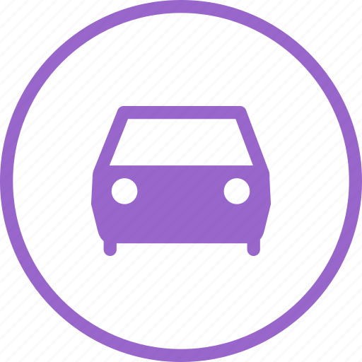 automobile, car, directions, driving, front icon