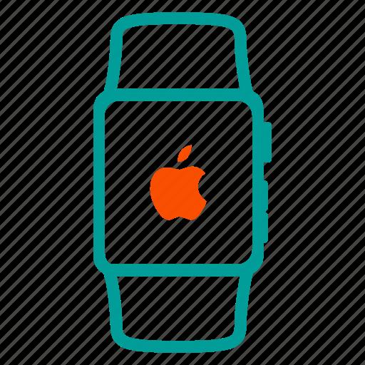 apple, apple watch, device, gadget icon