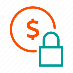 business, finance, lock, money, security, ssl icon