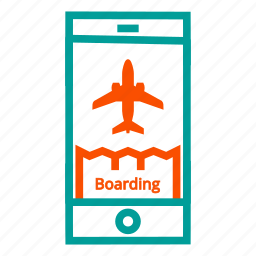 boarding, boarding pass, flight, pass, ticket, travel icon