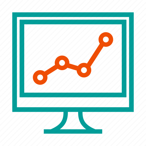 analytics, chart, growth, increase, report icon