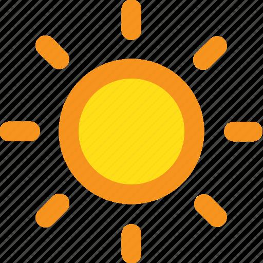clear, summer, sun, sunset icon