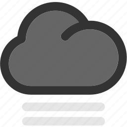 cloud, cloudy, fog, forecast, mist icon