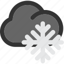 forecast, freeze, freezing, ice, snow, snowing, winter icon