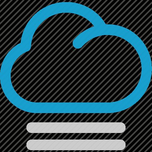 cloud, fog, forecast, mist icon