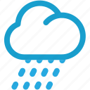 cloud, forecast, rain, raining icon