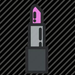 beauty, lip, lipstick, make, makeup, stick, up icon