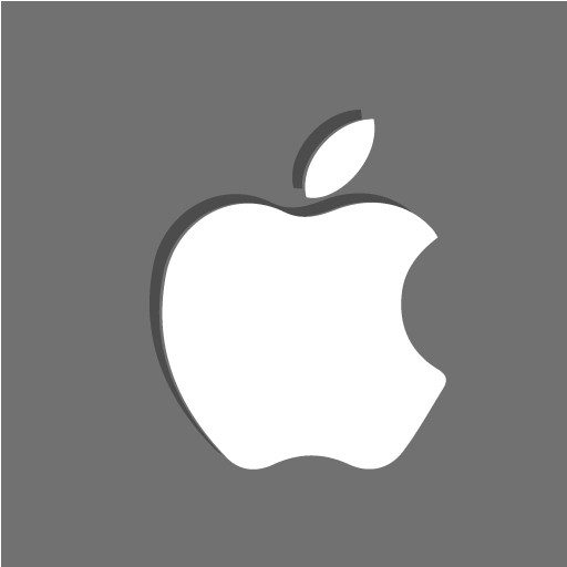 apple, ipad, mac, social icon