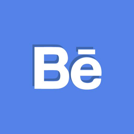behance, portfolio, social icon