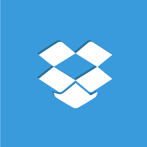box, dropbox, social icon
