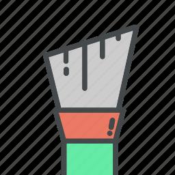 art, brush, brushes, make, paint, tool, up icon