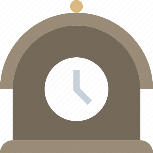 antiques, clock, time icon