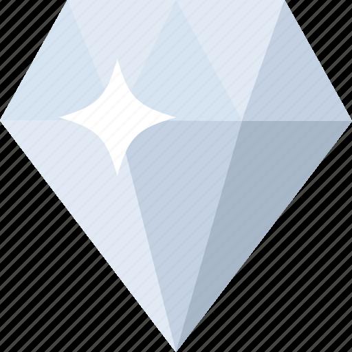 briliant, diamond, gem, jewel, jewelry, ring, stone icon