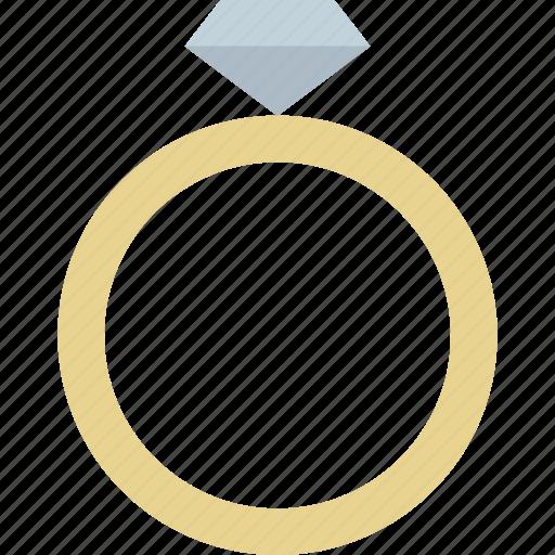 diamond, ring, wedding, wedding ring icon