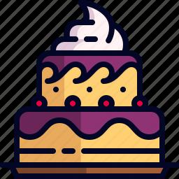 cake, dessert, food icon