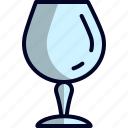 empty, glass icon