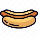 food, hotdog, snack icon