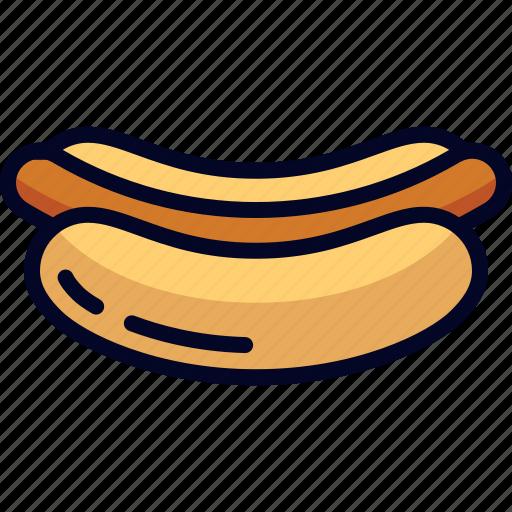 food, hotdog, snack icon