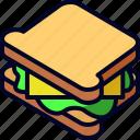 bread, food, lunch, sandwich, snack