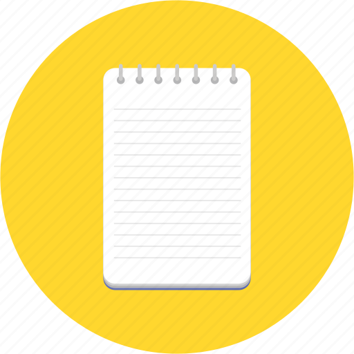 diary, jotter, memo, notebook, planner, write icon