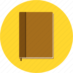 book, diary, jotter, note, notebook, schedule, study icon