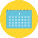 calendar, desk calendar, interior, month, plan, scadule, work icon