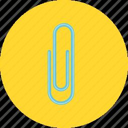bookmark, clip, paperclip icon