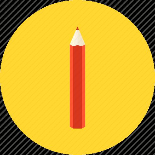 document, pencil, record, study, write icon