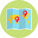 journey, location, lough map, map, position, site, world