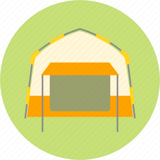 camping, excursion, outing, picnic, tent, trip icon