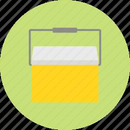 camping, cool bag, cooler, picnic, trip, vacation icon