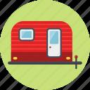 camping, tour, trailer, trailer camp, trip