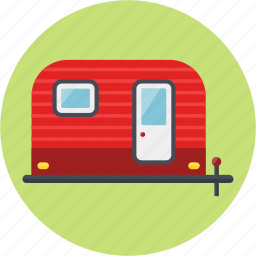 camping, tour, trailer, trailer camp, trip icon