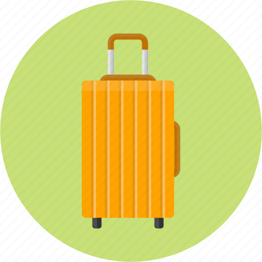 airport, baggage, journey, suitcase, traveling bag, trip icon