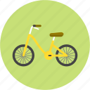 bicycle, bike, cycle, outing, picnic, trip icon